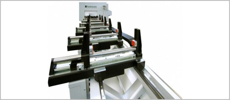Distribución de centro de mecanizado AXEL 5
