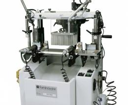 Pantógrafo electroneumático con rotación del perfil en mecanización MATISSE
